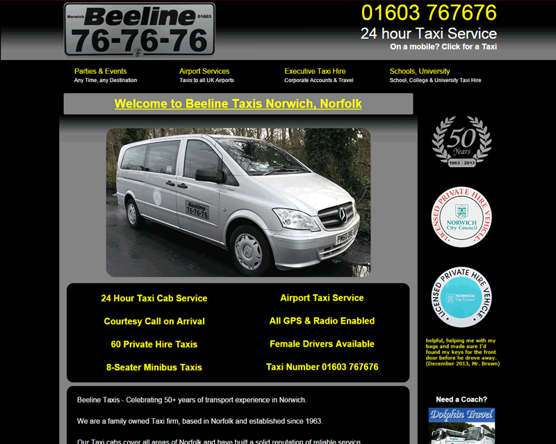 www.beelinetaxisnorwich.co.uk