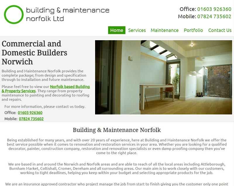 www.buildingandmaintenancenorfolk.co.uk