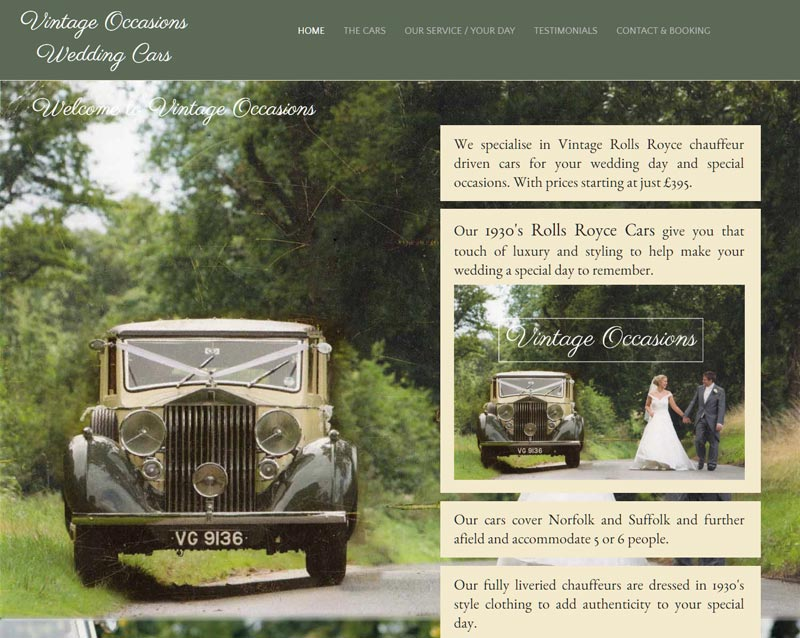 www.vintageweddingcarsnorfolk.co.uk